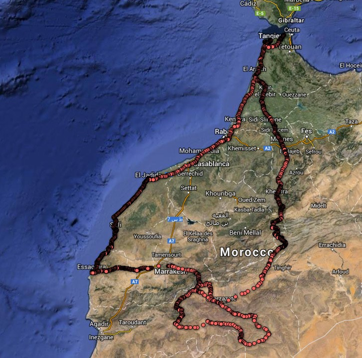 Morocco-June-2013-route